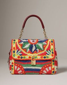bolsa estampada colorido