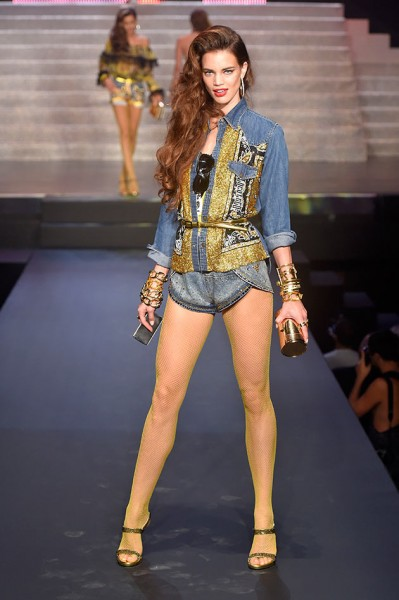 jean gaultier look jeans