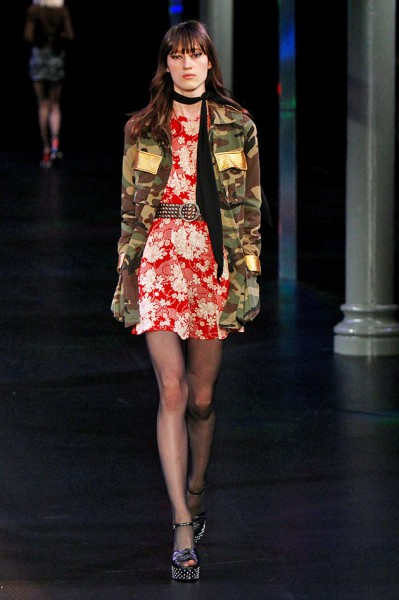 saint laurent camuflagem