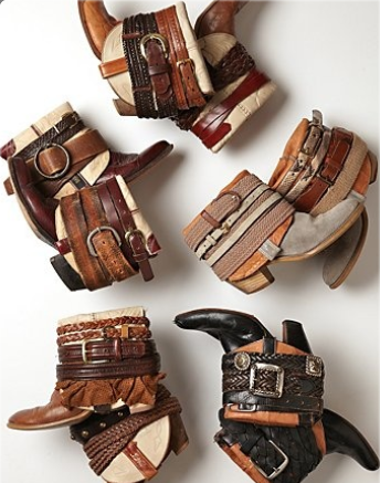 bijoux and belts for boots 11