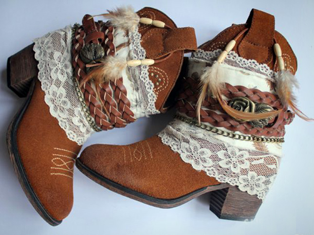 bijoux and belts for boots 14