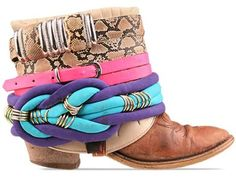 bijoux and belts for boots 21