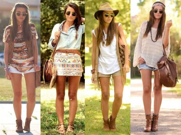 boots belt looks hippie chic 3
