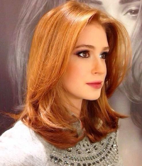 cabelos-curtos-e-medios ruivo