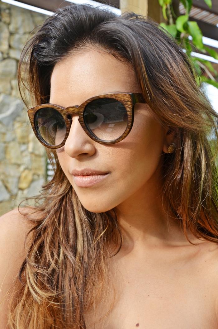 mariana rios looks óculos de madeira