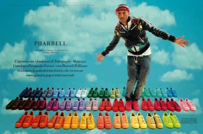 tenis superstar adidas pharrel