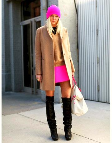 gorro pink