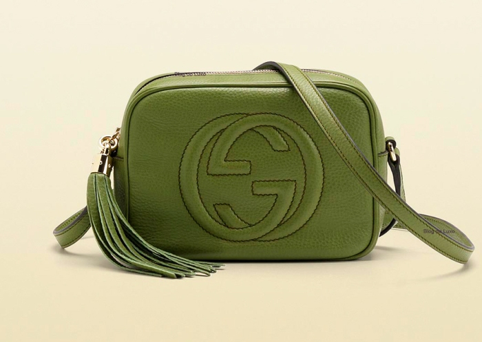 gucci disco bag verde escuro