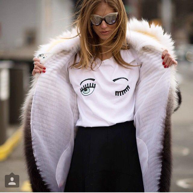 Resultado de imagem para olhinhos moda chiara