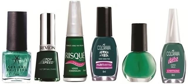 verde esmeralda esmaltes