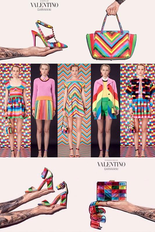 valentino rainbow 1