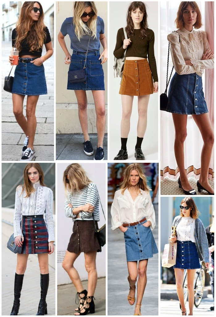 skirt button front 2