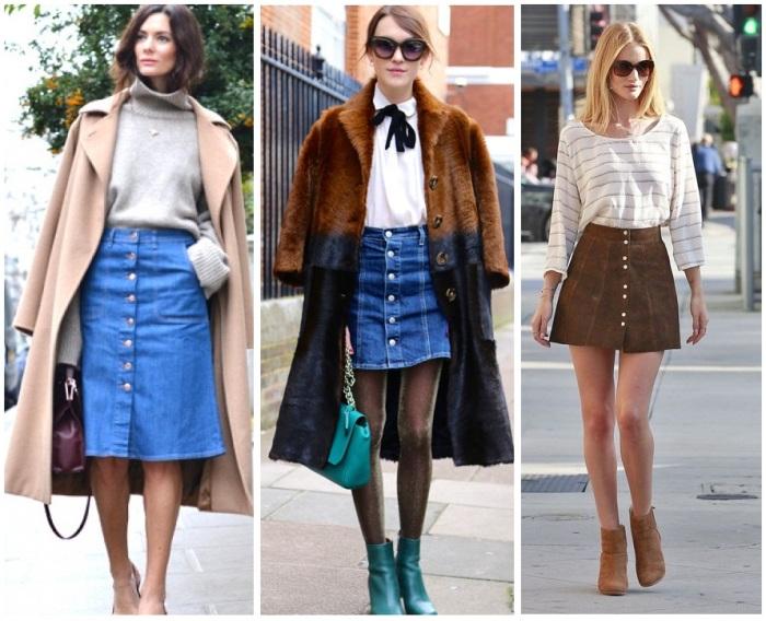 skirt button front 3