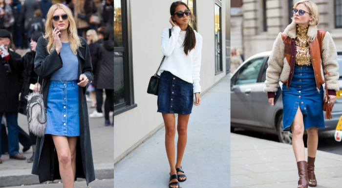 skirt button front jeans