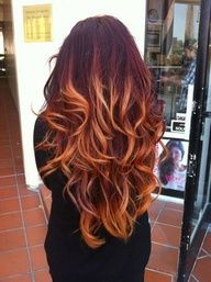 cabelo laranja