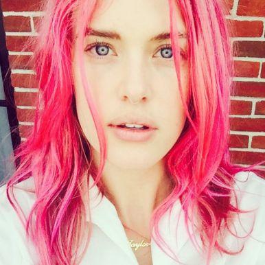 cabelo rosa pink