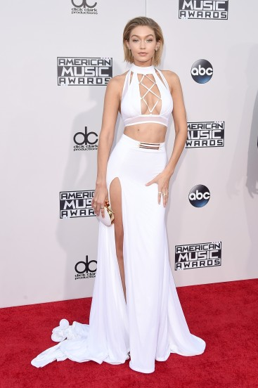 gigi hadid look in ama