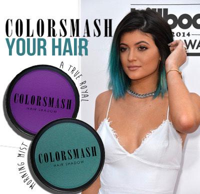 kylie jenner colorful hair