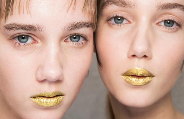 prada golden gloss