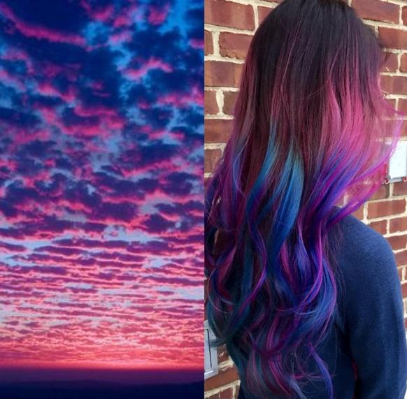 sunset hair 11