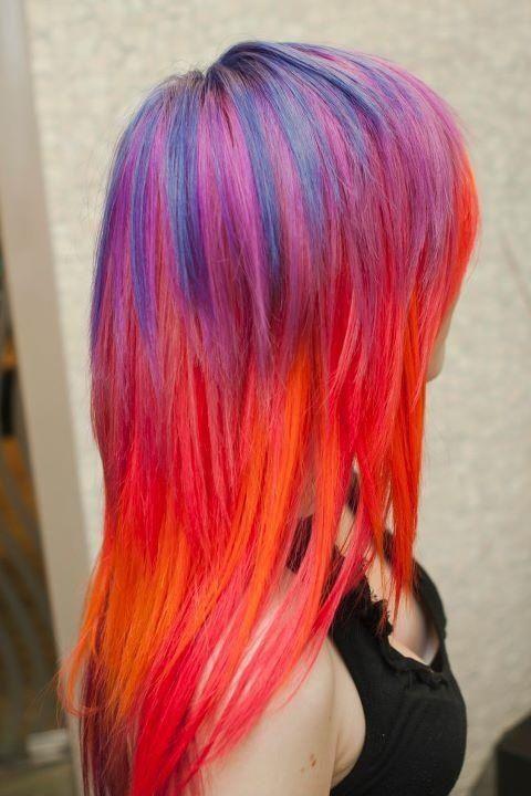 sunset hair 2