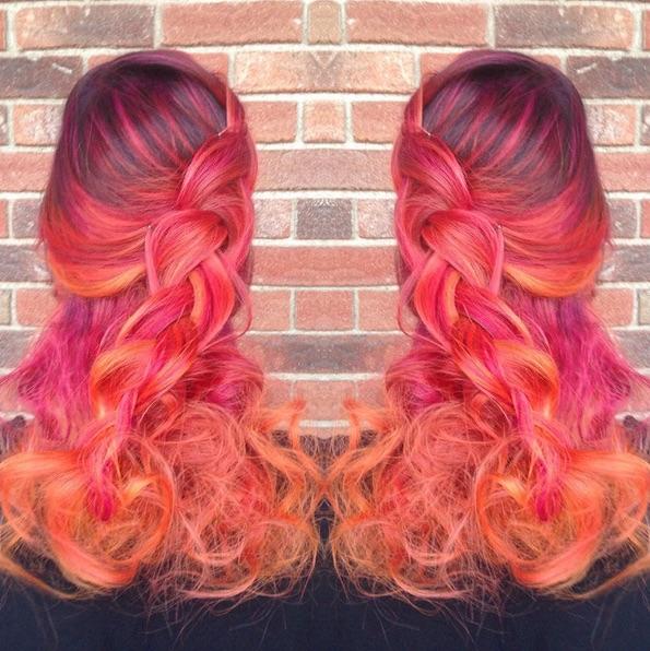 sunset hair 9