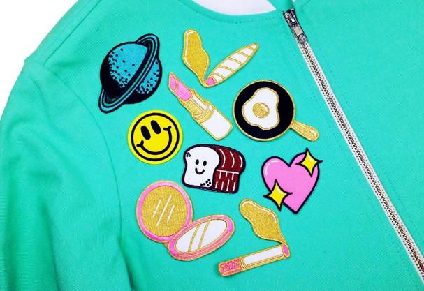 jaqueta com patches 5