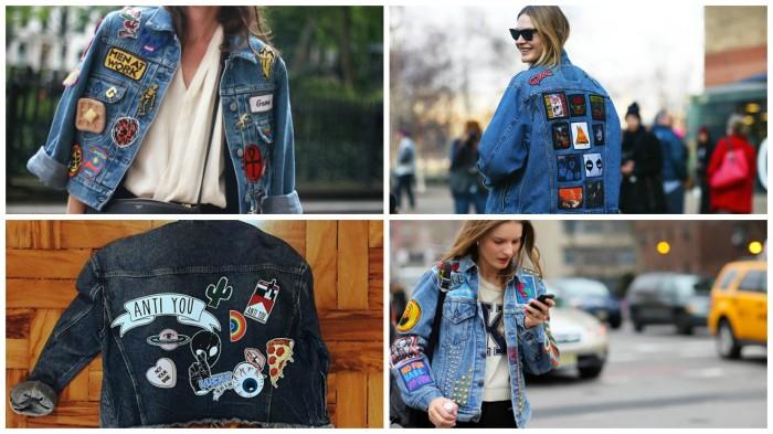 jaqueta com patches 9