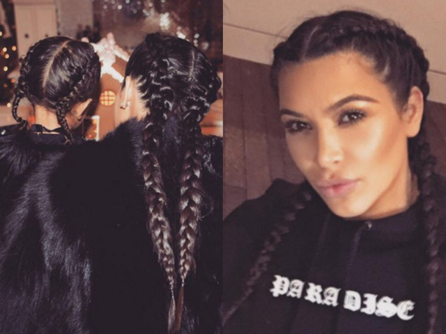 kim and north boxer braid