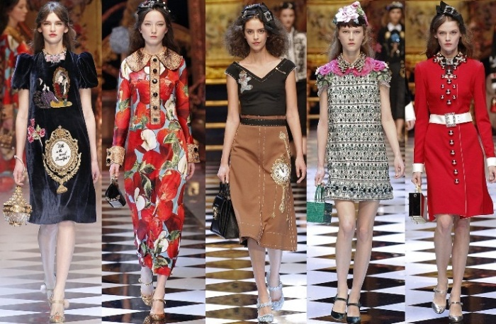 dolce&gabbana mfw 2017 fall winter