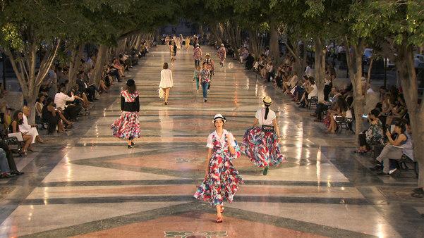 desfile chanel em cuba
