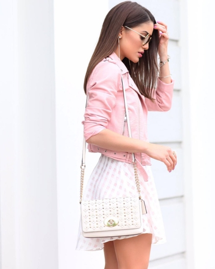 looks com rosa quartz 7