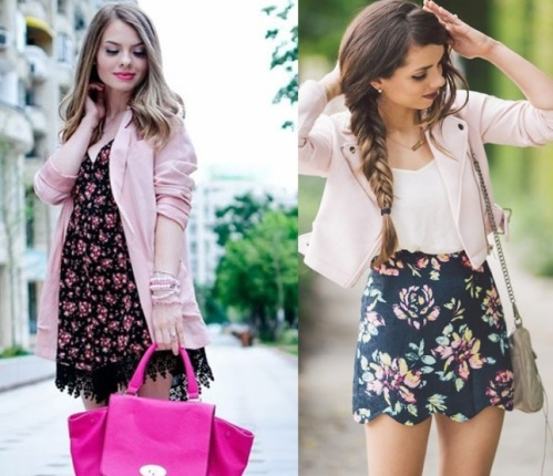 looks com rosa quartzo 1