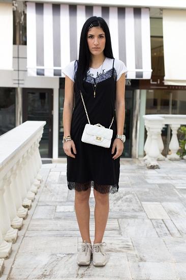 slip dress with tshirt 5